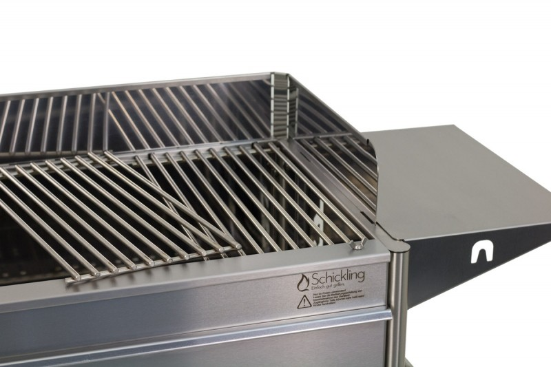 Bester Holzkohlegrill Gebraucht : Der holzkohlegrill aus edelstahl für profis schickling grill