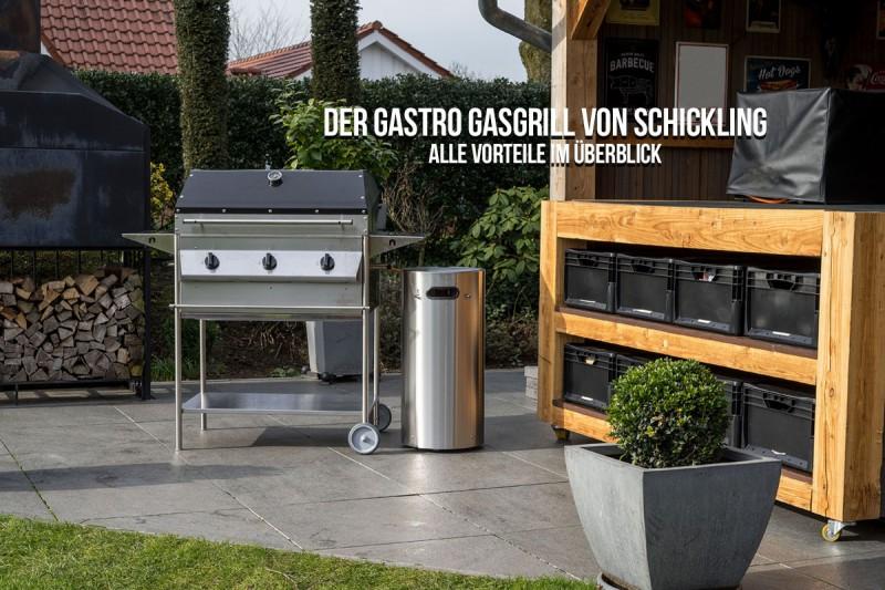 Grillschalen Für Gasgrill : Gastro gasgrill made in germany schickling grill