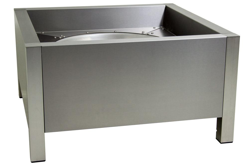 feuerschale edelstahl 75cm made in germany schickling grill. Black Bedroom Furniture Sets. Home Design Ideas