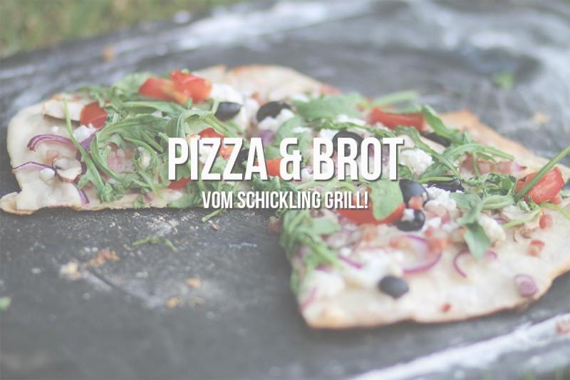 Pizzastein Für Grill Die Perfekte Pizza Vom Grill Schickling Grill