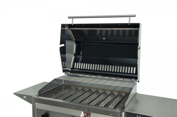Grillrezepte Für Gasgrill Mit Haube : Hoher grilldeckel für gasgrill mit warmhalterost schickling grill