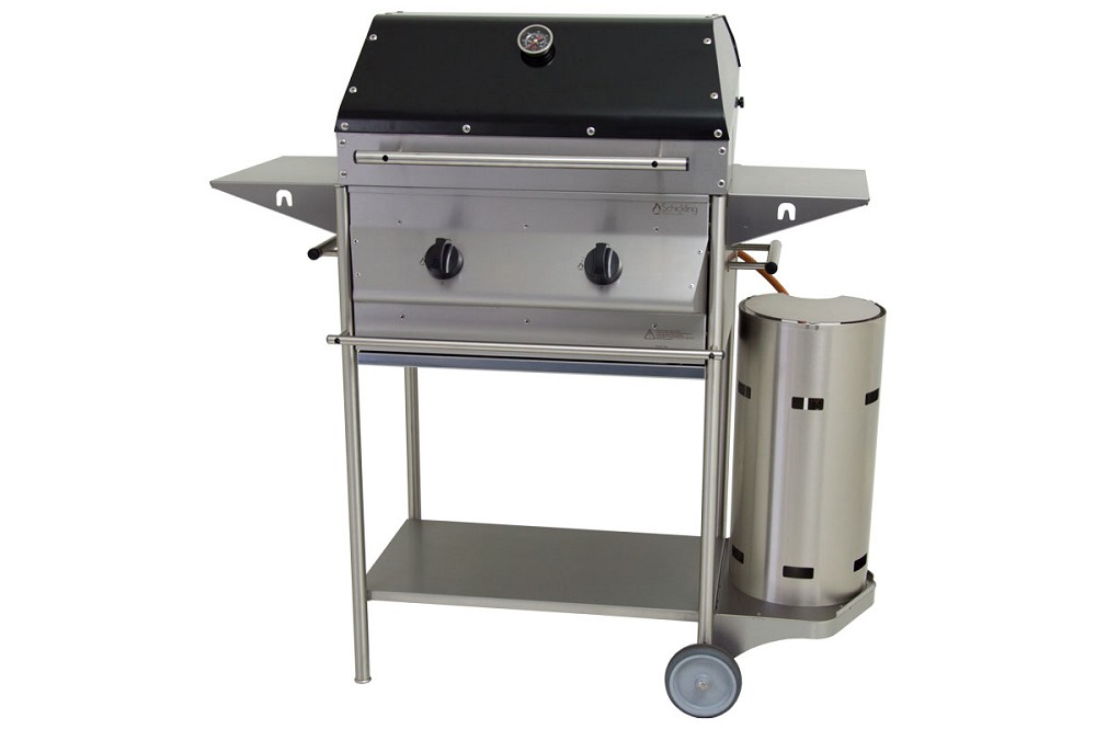 Gasgrill Edelstahl PremioGas ´´Barbecue Plus´´