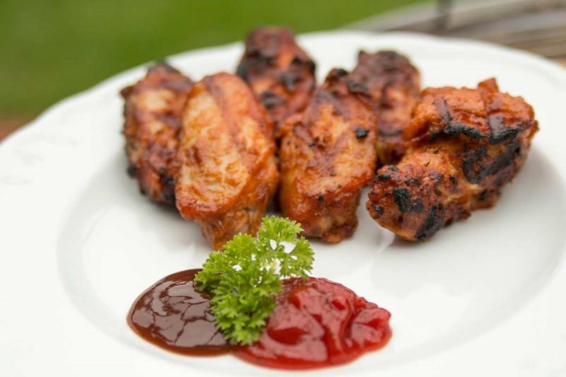 Würzige Chicken Wings vom Edelstahlgrill Premio
